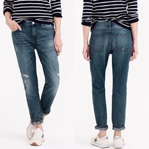 J. Crew Broken In Boyfriend Jeans 100% Cotton